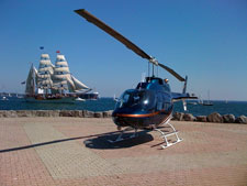 Tours around Toronto and Ontario Place National Helicopters
